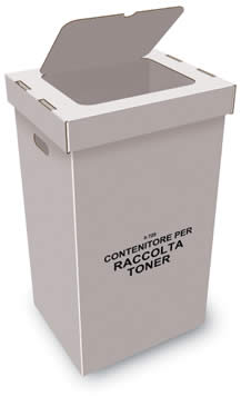 60 liter carton box for toner