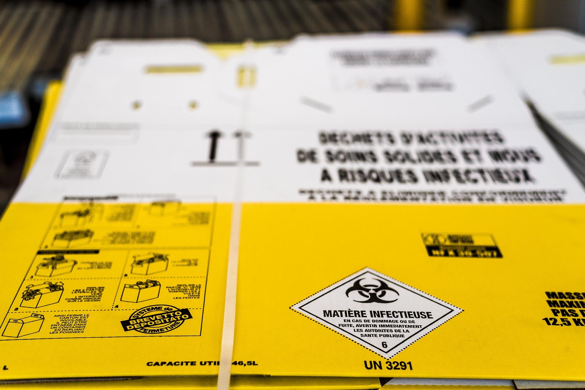 contenitori in cartone per rifiuti speciali