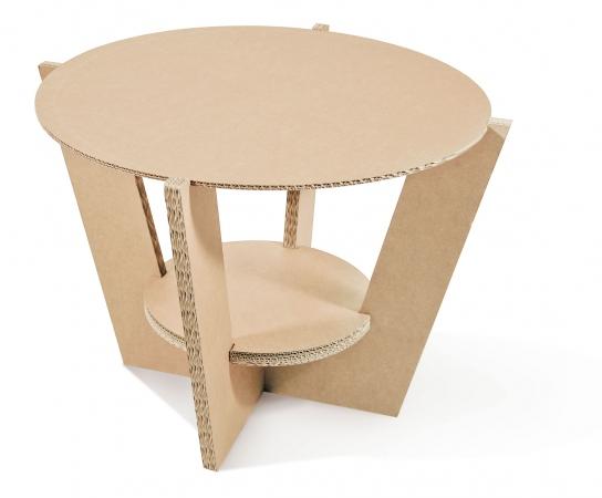 etc_suareup - tavolo in cartone