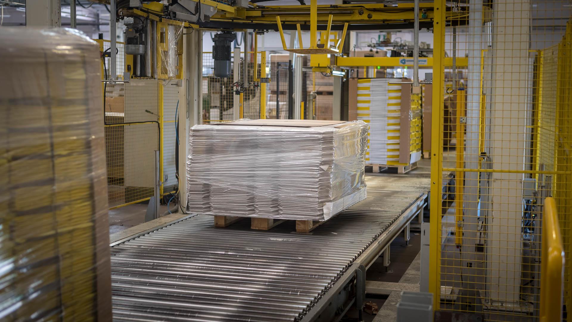 produzione imballaggi in cartone
